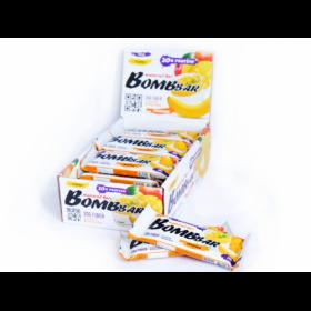 Протеиновый батончик Bombbar (Банановый пудинг с манго). 20 гр. белка
